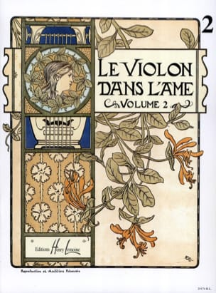 Le Violon dans l'Ame - Volume 2 Bruno Garlej Partition laflutedepan