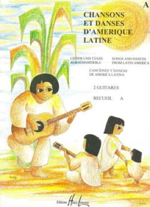 Chansons et danses d'Amérique latine - Recueil A - laflutedepan.com