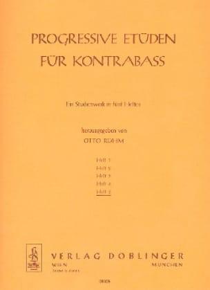 Progressive Etüden für Kontrabass, Heft 5 - laflutedepan.com