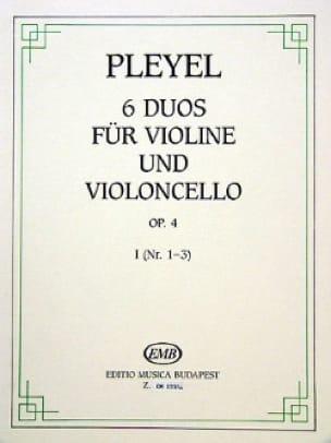 6 Duos für Violine und Violoncello op. 4 - Bd. 1 - laflutedepan.com