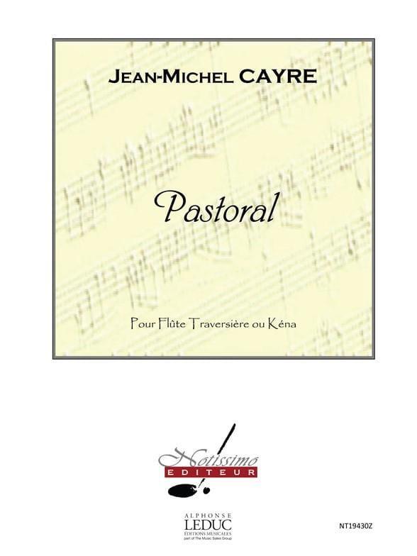 Pastorale - Flûte - Jean-Michel Cayre - Partition - laflutedepan.com