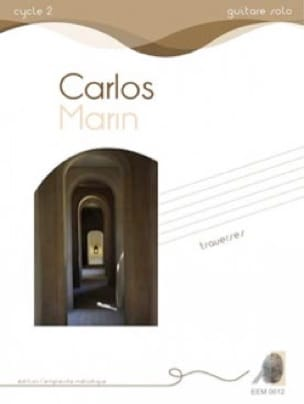 Traverses - Carlos Marin - Partition - Guitare - laflutedepan.com
