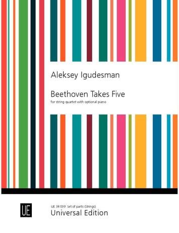 Beethoven Takes five - Parties de cordes séparées uniquement - laflutedepan.com