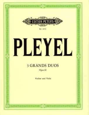 3 Grands duos op. 69 Ignaz Pleyel Partition 0 - laflutedepan