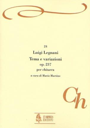 Tema e variazioni, op. 237 Luigi Rinaldo Legnani laflutedepan