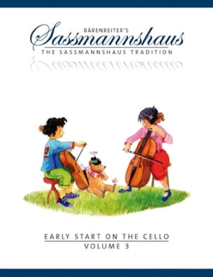 Early Start On The Cello Vol.3 egon sassmannshaus laflutedepan
