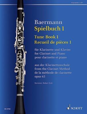 Spielbuch 1 - Clarinette et piano - Carl Baermann - laflutedepan.com