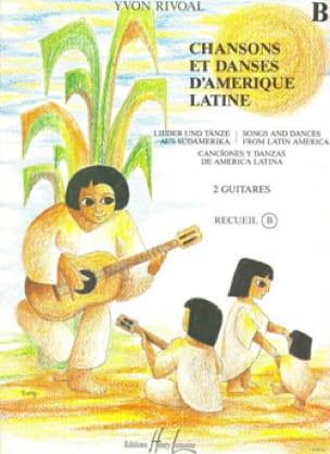 Chansons et danses d'Amérique latine - Recueil B - laflutedepan.com