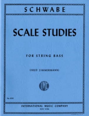 Scale Studies - String bass - Oswald Schwabe - laflutedepan.com