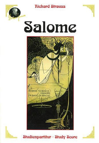 Salomé - Richard Strauss - Partition - Grand format - laflutedepan.com