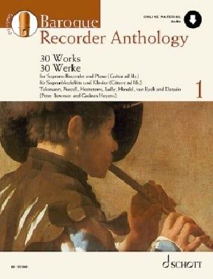 Baroque Recorder Anthology Volume 1 - laflutedepan.com