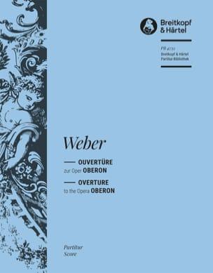 Oberon Ouvertüre Carl Maria von Weber Partition laflutedepan