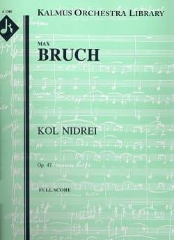 Kol Nidrei op. 47 - Cello et orchestre BRUCH Partition laflutedepan