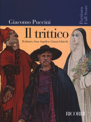 Il Trittico Nouvelle Edition PUCCINI Partition laflutedepan