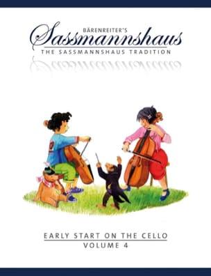 Early Start On The Cello Vol.4 egon sassmannshaus laflutedepan