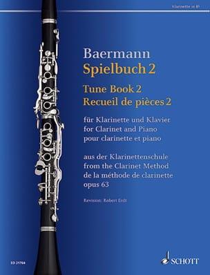 Spielbuch 2 - Clarinette et piano Carl Baermann Partition laflutedepan