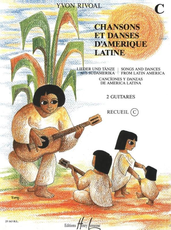 Chansons et danses d'Amérique latine - Recueil C - laflutedepan.com