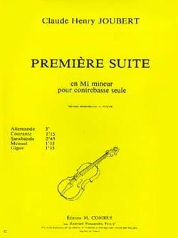 Suite n° 1 en mi mineur Claude-Henry Joubert Partition laflutedepan