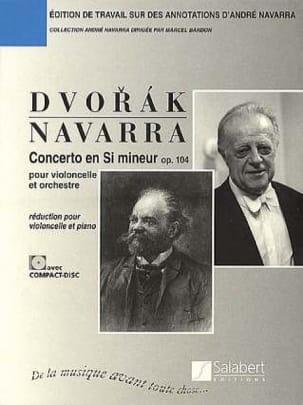 Concerto Pour Violoncelle en Si Mineur, Op. 104 Navarra laflutedepan