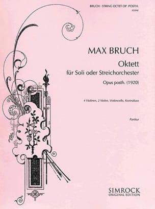 Oktett op. posth. - Soli o. Streichorchester - Partitur laflutedepan