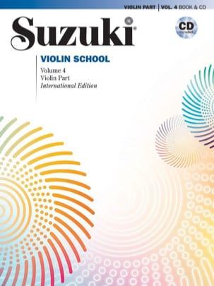 Violin School Volume 4 SUZUKI Partition Violon - laflutedepan