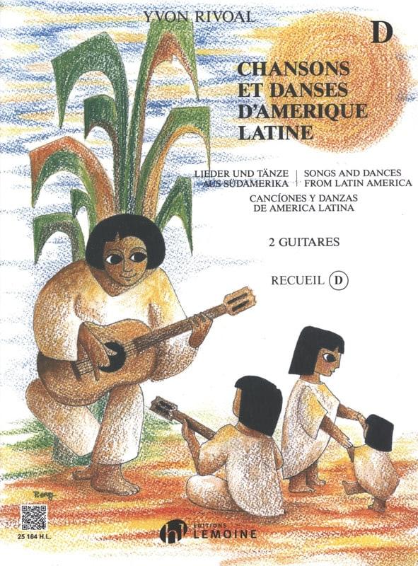 Chansons et danses d'Amérique latine - Recueil D - laflutedepan.com