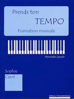 Prends ton Tempo Sophie Carré Partition Solfèges - laflutedepan