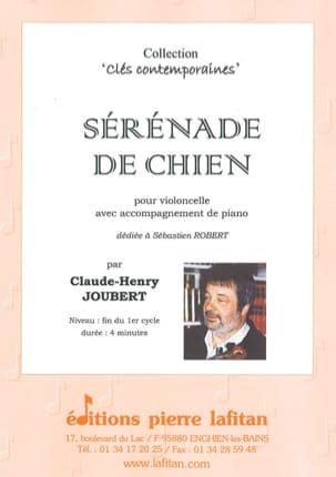 Sérénade de Chien Claude-Henry Joubert Partition laflutedepan