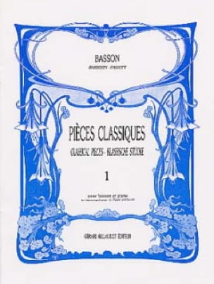 Pièces classiques - Volume 1 -Basson - laflutedepan.com