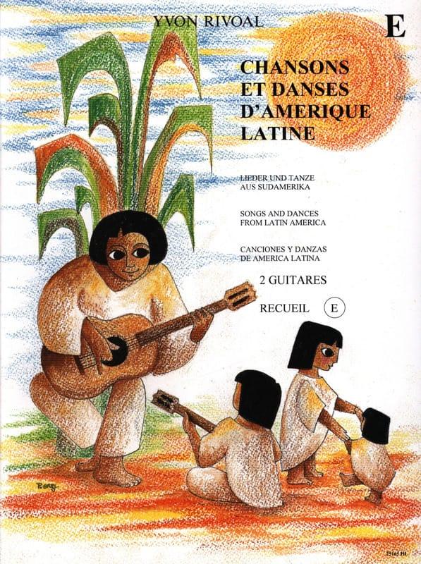 Chansons et danses d'Amérique latine - Recueil E - laflutedepan.com