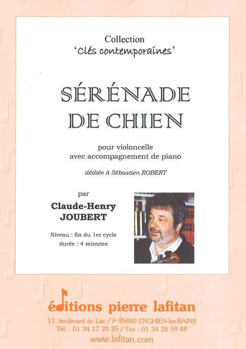 Sérénade de Chien - Claude-Henry Joubert - laflutedepan.com