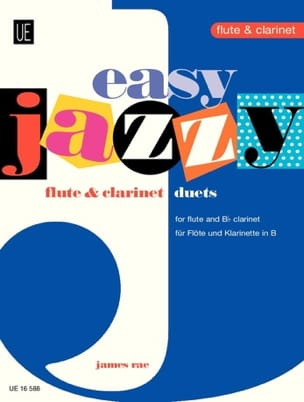 Easy Jazzy Duets - Flute clarinet James Rae Partition laflutedepan