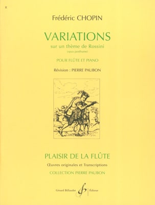 CHOPIN - Variations on a Rossini theme - Partition - di-arezzo.co.uk