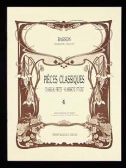 Pièces classiques - Volume 4 -Basson Partition laflutedepan
