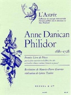 1er Livre de pièces - Flûte Bc Anne Danican-Philidor laflutedepan