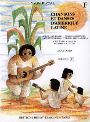 Chansons et danses d'Amérique latine - Recueil F - laflutedepan.com