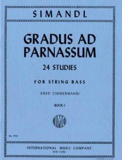 Gradus ad Parnassum, Volume 1 - String bass Franz Simandl laflutedepan