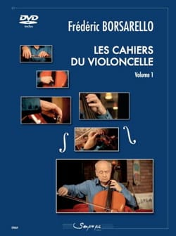 Les Cahiers du Violoncelle Vol. 1 Frédéric Borsarello laflutedepan