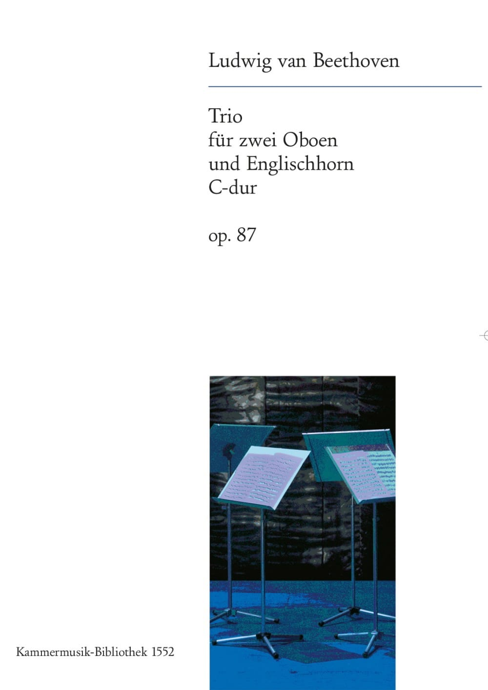 Trio C-Dur op. 87 -2 Oboen Englischhorn - laflutedepan.com