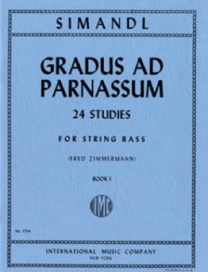 Gradus ad Parnassum, Volume 1 - String bass - laflutedepan.com