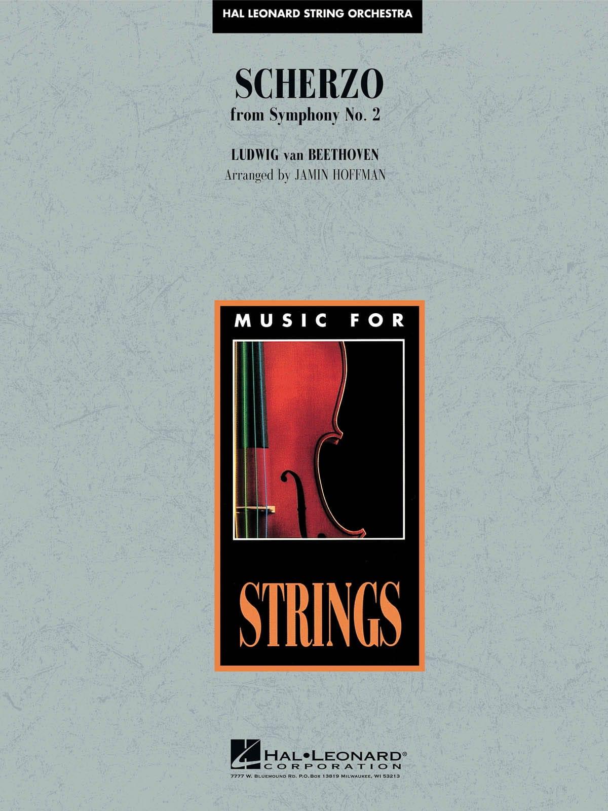 Scherzo from Symphony N° 2 - BEETHOVEN - Partition - laflutedepan.com