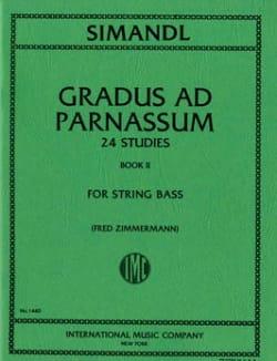 Gradus ad Parnassum, Volume 2 - String bass Franz Simandl laflutedepan