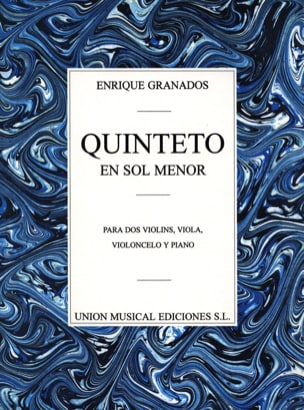 Quintette en Sol Mineur GRANADOS Partition Quintettes - laflutedepan