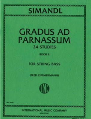 Gradus ad Parnassum, Volume 2 - String bass - laflutedepan.com