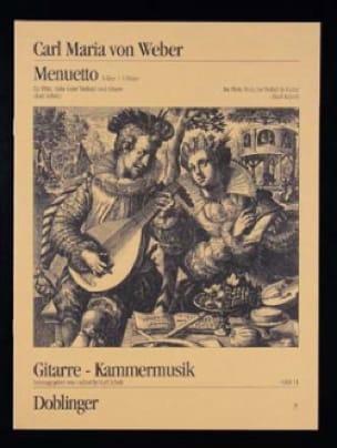 Menuett Mit Trio A-Dur - Carl Maria von Weber - laflutedepan.com
