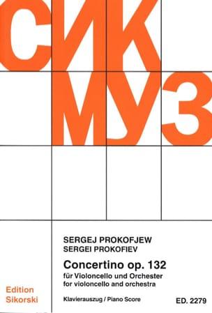 Concertino Violoncello op. 132 - Cello piano PROKOFIEV laflutedepan