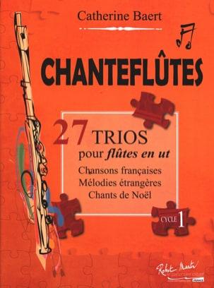 Chanteflûtes - 3 Flûtes Catherine Baert Partition laflutedepan