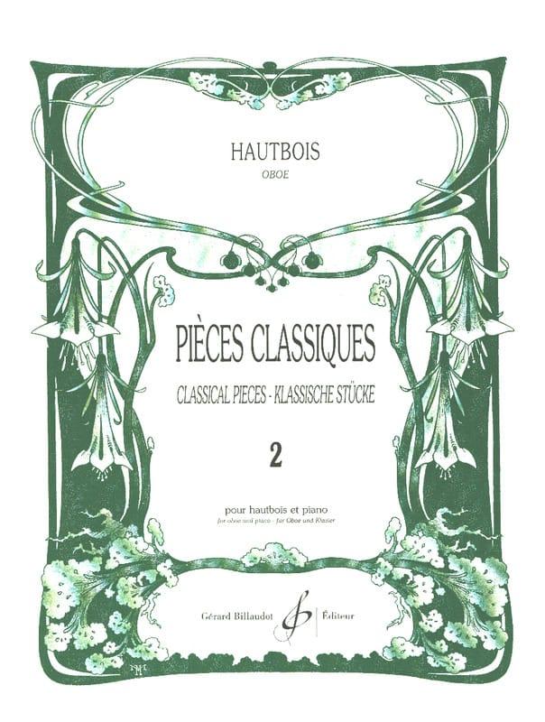 Pièces Classiques Volume 2 - Hautbois - laflutedepan.com