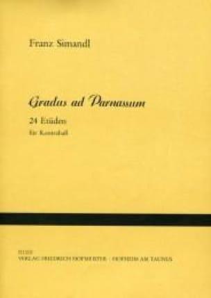 Gradus ad Parnassum - Kontrabass - Franz Simandl - laflutedepan.com