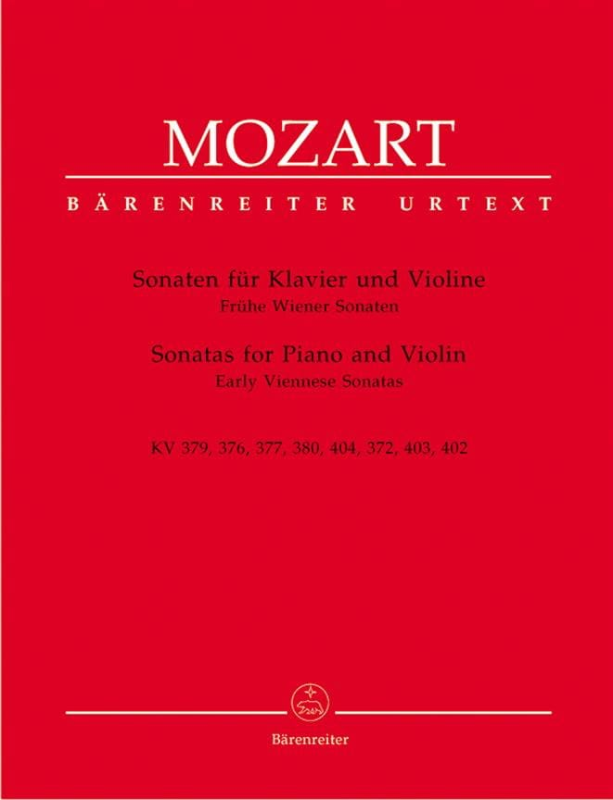 Sonaten - Frühe Wiener Sonaten - MOZART - Partition - laflutedepan.com
